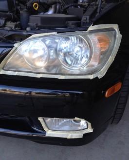 Project Sportcross: Refinishing Lexus IS300 Sportcross headlights